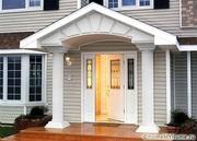 Как выбрать пластиковые входные двери для частного дома